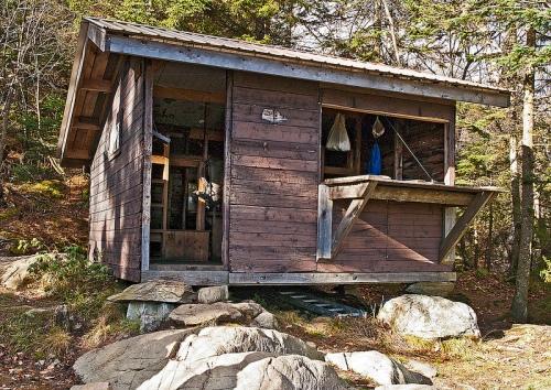Vermont trail cabin
